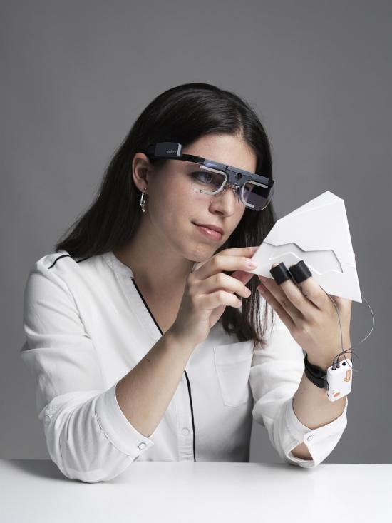 Att kombinera mätningar av de visuella intrycken med sensoriska mätningar kring förpackningars haptik, hur de upplevs när man håller dem i handen, är nydanande.