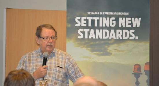 Lennart Strandberg, Projekthydraulik i Sverige AB, kommer att föreläsa på SSG Hydraulikdagar 2017.