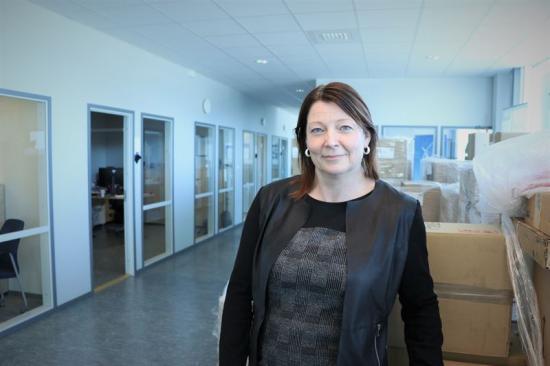 Eva Sandén, platschef SKF i Linköping.