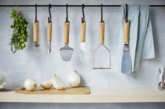 Produkter i köksredskapsserien GastroMax BIO.