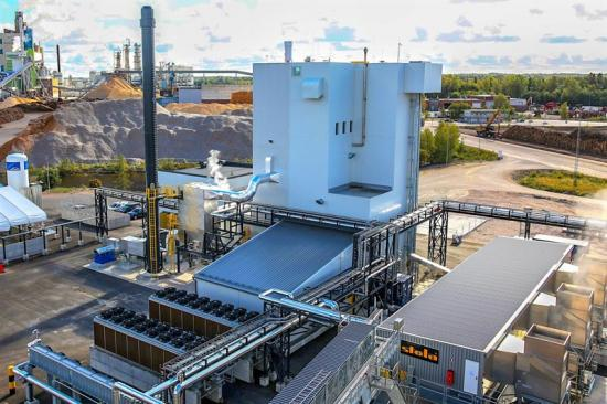<span><span>Pyrocells anläggning ligger vid Setra Kastet sågverk i Gävle.</span></span>