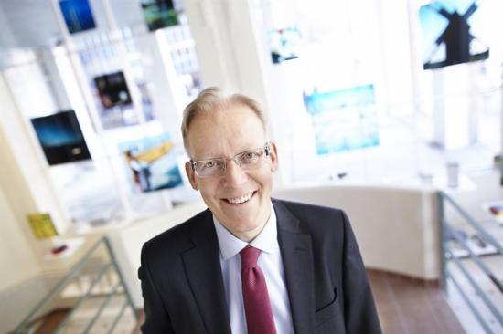 Johan Söderström, vd för ABB Sverige.