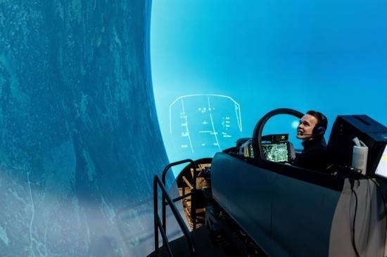 Simulatorprov - en viktig del för utveckling av Gripensystemet.