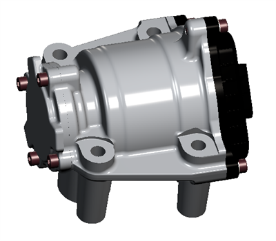 Concentrics kompakta 12V-elektriska oljepump