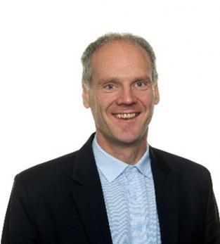 Peter Löfgren är vd på SynerLeap Powered by ABB som arbetar för att öka innovation genom samarbete med startup och scaleup bolag.