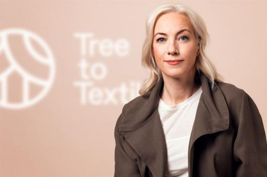 Sigrid Barnekow, VD TreeToTextiles.