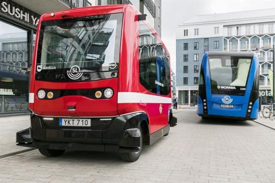 <span><span>De självkörande bussarna är en av de första pusselbitarna i det som ska bli världens modernaste kollektivtrafik.</span></span>