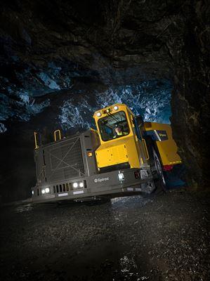 Underjordstrucken Minetruck MT65 är del av ordern