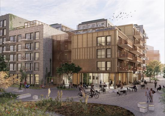 GoCo Health Innovation City, Balder (bilden är en illustration).