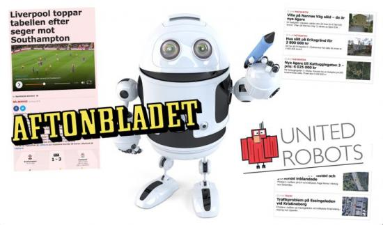 Aftonbladet och United Robots har tillsammans utvecklat Aftonbladets hyllade robotjournalistik. Det nya strategiska samarbetet gör det nu möjligt för fler mediehus att ta del av tekniken.