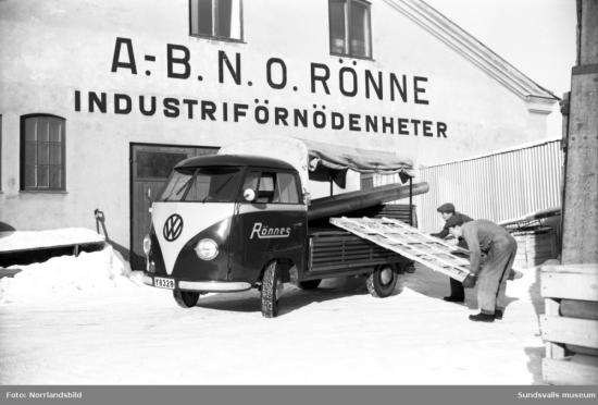 N.O. Rönne är ett avSundsvallsmest anrika industrileverantöreroch grundades redan 1916.