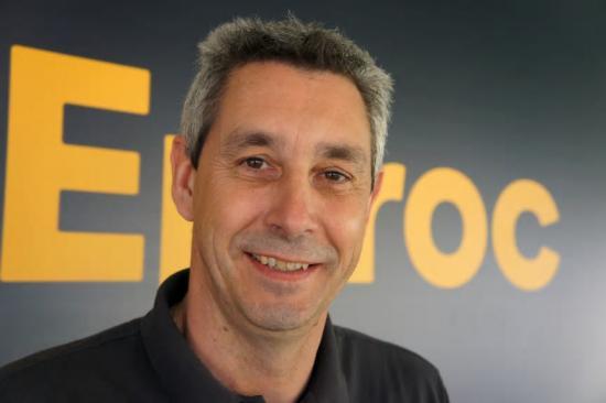 Lars Senf, VD på Epiroc Sweden.