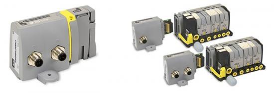 Parkers IO-Link-modul för Moduflex ventilsystem.