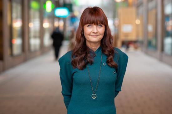 IF Metalls förbundsordförande Marie Nilsson.