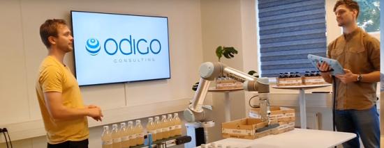Odigo i Lund är Universal Robots första certifierade integratör i Sverige.