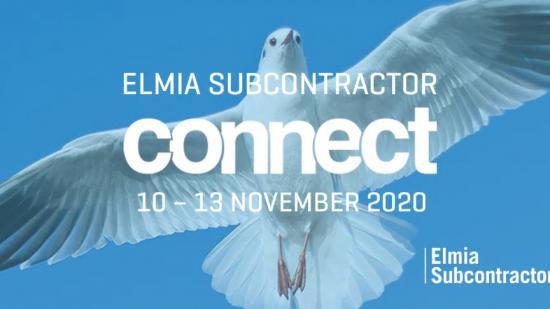 Elmia Subcontractor lanserar i år den digitala mötesplatsen Elmia Subcontractor Connect 2020 - på samma datum som den fysiska mässan skulle ha genomförts, 10 – 13 november.