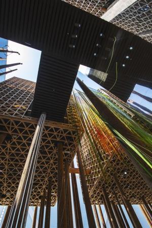 Sveriges paviljong på Expo 2020 i Dubai.