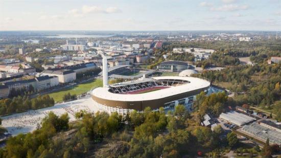 <span><span>Olympiastadion arbetar för att Helsingfors ska vara koldioxidneutralt till 2035, nu i samarbete med Stora Enso.</span></span>