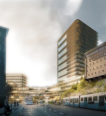 Projektet Sahlgrenska Life i Göteborg.