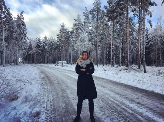 Frida Ivarsson, doktorand vid Göteborgs universitet.