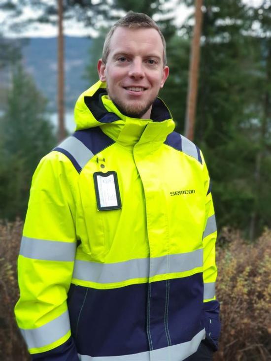 Thomas Eriksen, teknisk projektledare på Semcon i Norge.