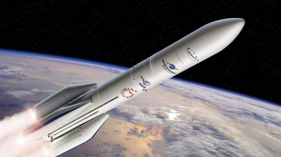 Ariane 6 - Första launch planerad 2022, Bild från ESA.