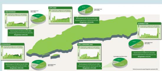 Genom att dividera marknadspris för en skogsfastighet med avkastningsvärdet för virket får man en kvot som kan användas i jämförelse med andra fastigheter.