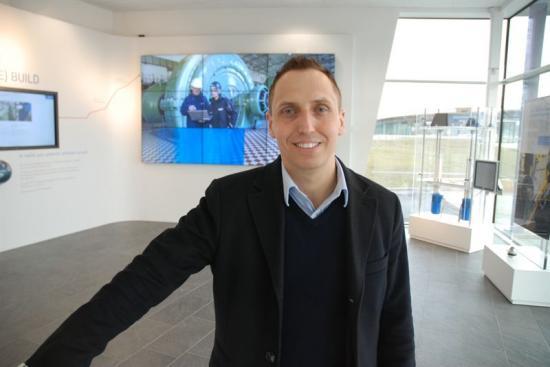 Janne Westlund, försäljningschef smörjsystem SKF i Sverige.