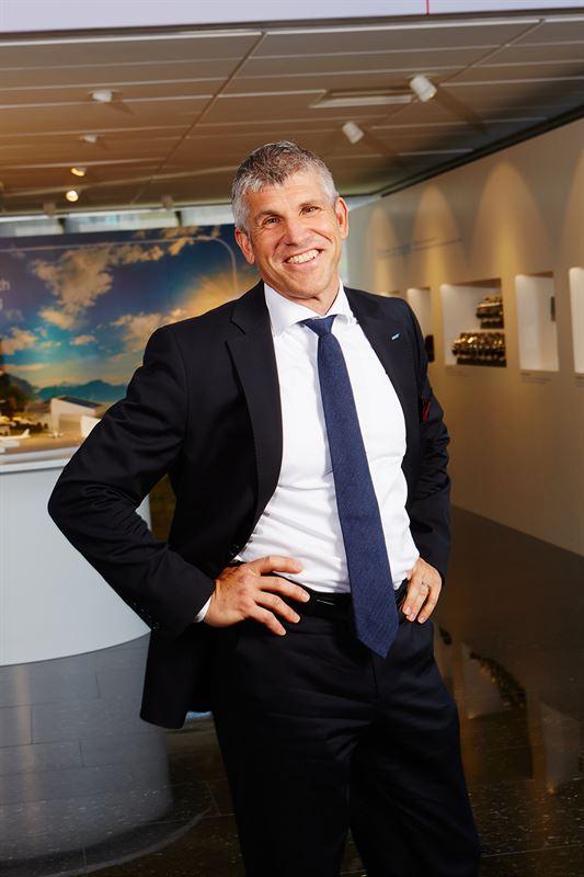 Christian Johansson, finansdirektör i SKF-koncernen.