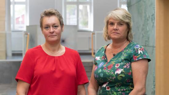 Regionråden Annette Linander (C) och Birte Sandberg (C) tycker att det är \