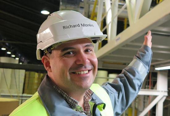 Richard Morén, investeringschef, Fors bruk.