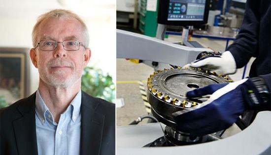 """Bengt Lindqvist, ekonom vid Teknikföretagen och författare till rapporten """"Var är produktivitetstillväxten?""""."""