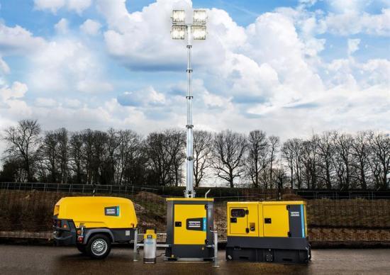 Nya, hållbara och mobila luft-, kraft- och flödeslösningar från Atlas Copco.
