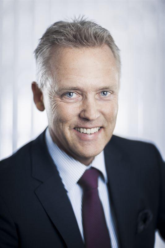 Görgen Johansson, chef för Saabs affärsområde Dynamics.