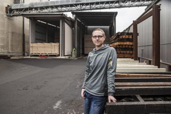 Kai Matthies, Ziegler Holzindustrie, Tyskland
