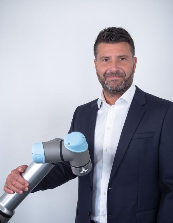 Thomas Hvarvenius, Sales Development Manager, Universal Robots, Sverige.