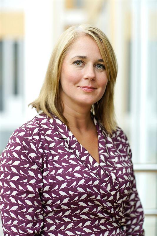 Caroline Sjöblom, marknadsansvarig för Fältöversten.