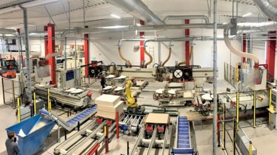 Jernbro hjälper Pelly Group med underhåll och flytt av maskiner.