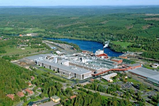 Kvarnsveden, massa- ochpappersbruk i Sverige.