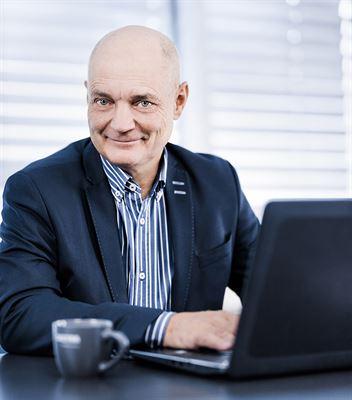 Torbjörn Kronander, koncernchef och vd för Sectra AB.