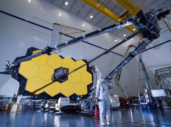 James Webb teleskopet.