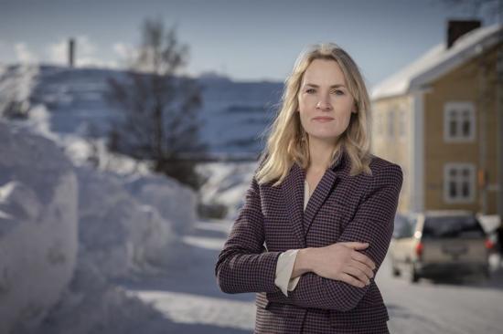 Anna Lidbom, hållbarhetschef på LKAB.