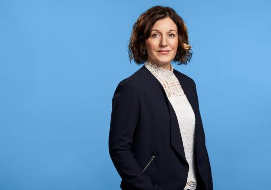 Emma Maria Kånåhols, bolagschef Hogia Industrial Systems.