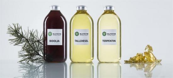 Produkter från SunPine.