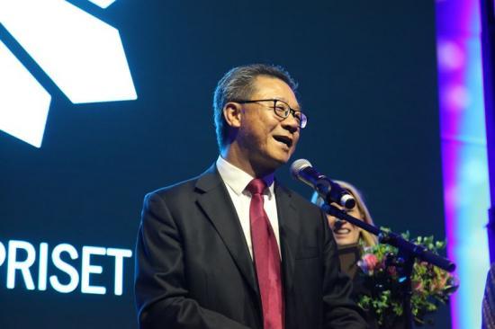Martin Pei, ordförande i Hybrit Development och vice verkställande direktör och teknisk direktör på SSAB.