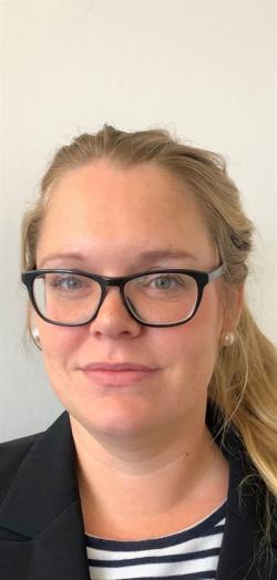 Elin Löfström-Engdahl, projektledare på Arbetsmiljöverket.