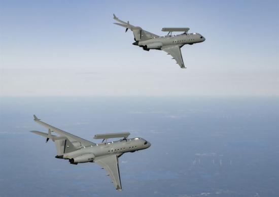 Förenade Arabemiraten och Saab har tecknat tilläggsavtal avseende försäljning av två GlobalEye, Saabs avancerade flygburna sensorsystem.