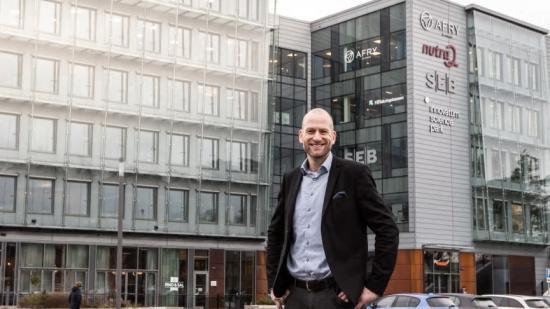 Martin Wänblom, vd för Innovatumkoncernen där Innovatum Science Park, Wargön Innovation, Energikontor Väst och Innovatum Science Center ingår.