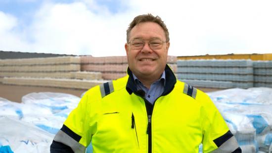 Magnus Andersson tillträder tjänsten som Vice VD för Finja Betong.