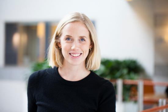 Sofia Aulin hållbarhetsansvarig på Länsförsäkringar Fondförvaltning.